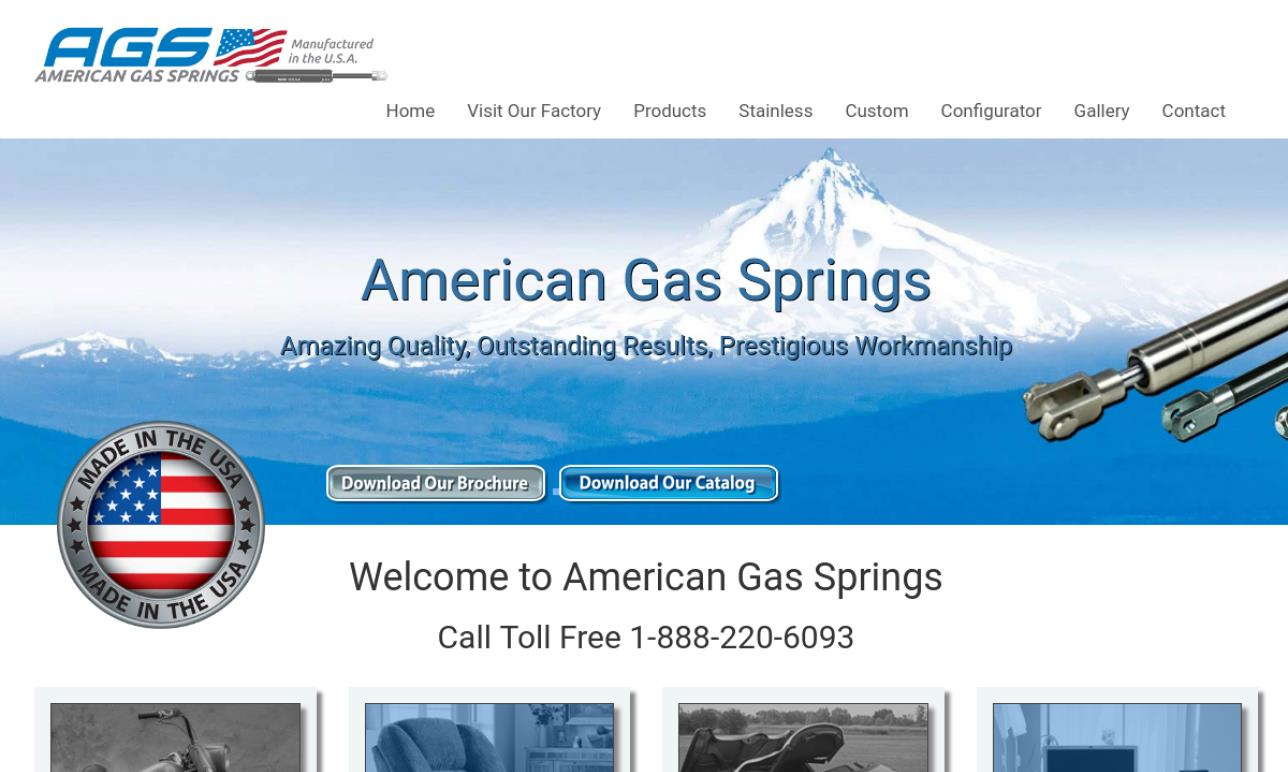 Gas Spring Manufacturers | Gas Spring Suppliers
